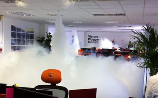 Smoke Cloak Smoke Screen Security Oakpark Group